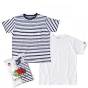 カブー KAVU Pack Tee White / Navy 1982107501